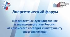 На энергетическом форуме НРБ обсудили перекрестное субсидирование в электроэнергетике